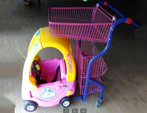 粉色公主童趣车