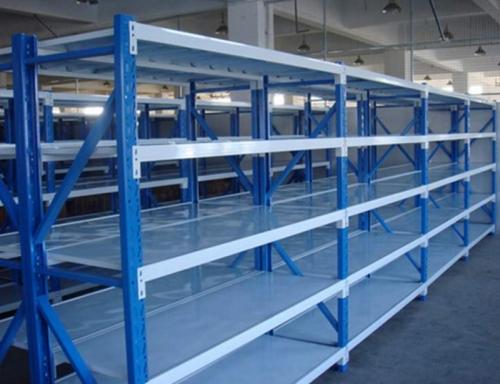 5层蓝色货架